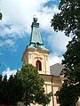 Rokitno, kościół par. p.w. Matki Boskiej Królowej Polski 03.JPG