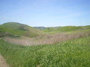 West Hills, Los Angeles - Rolling hills at Upper Las Virgenes Canyon