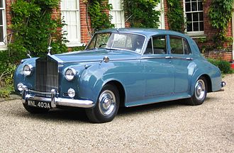 Rolls-Royce Silver Cloud - Image: Rolls Royce Silver Cloud I 1956 licence plate 1963 Castle Hedingham 2008