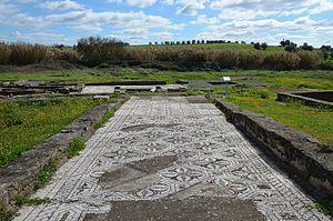 Roman ruins of Pisões - Roman Villa of Pisões