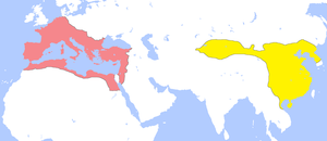 English: Locator map for the Roman Empire and ...