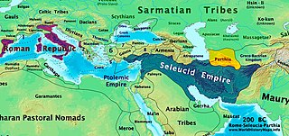 series of conflicts between the Seleucid Empire and Parthia