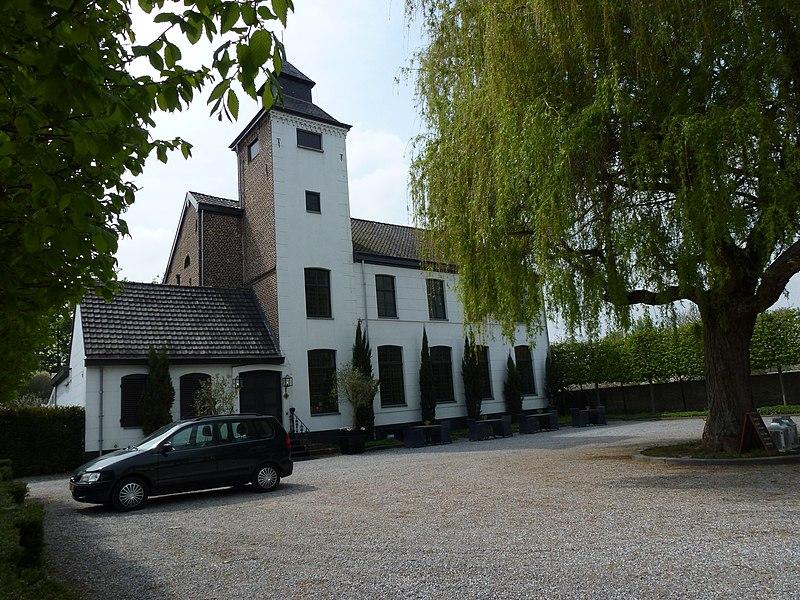 Roosteren (Echt-Susteren) kasteel Eyckholt