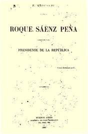 Roque Saenz Peña - Paul Groussac.pdf