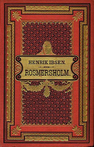 Rosmersholm - 1886 edition of Romersholm