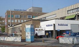Erasmus MC - The Daniel den Hoed Clinic, the oncology center of the Erasmus MC in the neighbourhood Feijenoord.