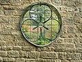 Round window onto the Japanese garden - geograph.org.uk - 272753.jpg