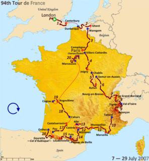 2007 Tour de France cycling race