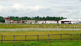 Rouyn-Noranda Airport - Image: Rouyn Noranda Airport