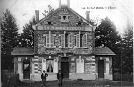 The school of Royas in 1909