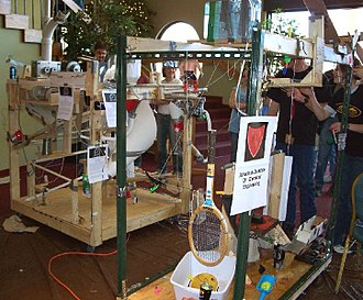 Rube Goldberg Machine Contest - one of the 2007 entries