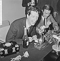 Rudi Carrell heeft de zilveren roos gewonnen. Rudi Carrell tijdens de persconfer, Bestanddeelnr 916-3517.jpg