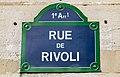 Rue de Rivoli sign, Paris 28 May 2017.jpg
