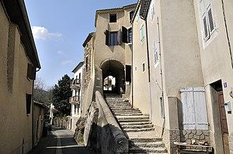 Beauchastel - Image: Rue de grande porte à Beauchastel