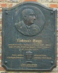 Ruge Plaque Poznan.JPG