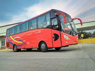 Rural Transit of Mindanao - A bus unit of Rural Transit of Mindanao at the Zamboanga City Integrated Bus Terminal