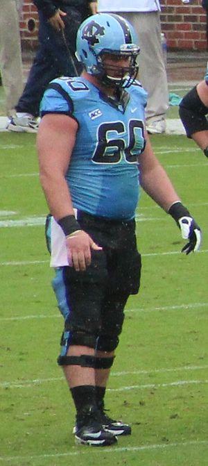 Russell Bodine - Bodine in college.