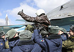 Russian military pilots returning from Syria, Baltimor (2016-03-15) 04.jpg