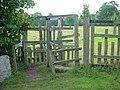 Rustic turnstile - geograph.org.uk - 564455.jpg
