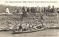 Sénégal-Bords du fleuve à Kaédi un jour de courrier (AOF).jpg