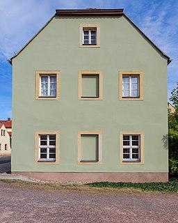 Zaschendorfer Straße in Meißen