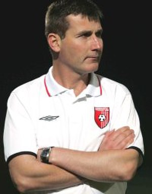 Stephen Kenny (footballer) - Image: S Kenny