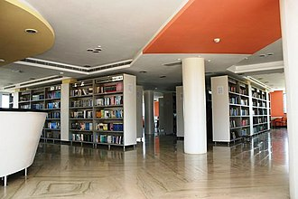 Shree Motilal Kanhaiyalal Fomra Institute of Technology - College Main Library