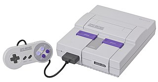 Super Nintendo Entertainment System home video game console developed by Nintendo and first released in 1990 in Japan