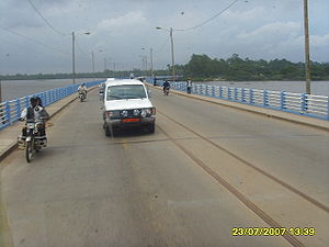 Wouri River - Wouri bridge