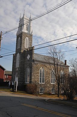 ST. LUKE'S EPISCOPAL CHURCH, HOPE, WARREN COUNTY
