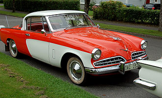 1954 Champion Starliner Hard-top Hard-top for five passengers STUDEBAKER CHAMPION-3721.JPG
