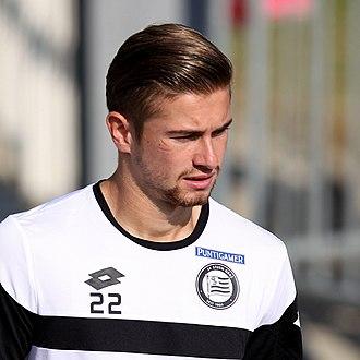 Andreas Gruber (footballer) - Image: SV Mattersburg vs. SK Sturm Graz 2015 09 13 (039)