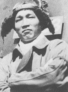 Sadamu Komachi Japanese World War II flying ace