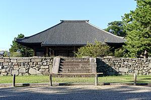 Thirteen Buddhist Sites of Yamato - Main hall, or hondō, Saidai-ji