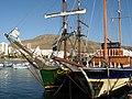 Sailing ships Tenerife.JPG