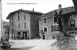 Saint-Appolinard in the early 20th century