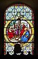 Saint-Pierre-Église Église de Saint-Pierre apôtre Baie 07 Le jugement de Pierre devant le tribunal Romain 2016 08 21.jpg