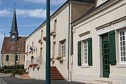 Saint-Rémy-des-Monts 120814-01 mairie.JPG