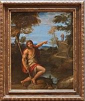 Johannes der Täufer weist auf Jesus, um 1600, Metropolitan Museum, New York (Quelle: Wikimedia)