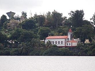 Île Sainte-Marie - Image: Sainte marie Madagascar first church