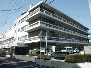 Saitama City Waterworks Bureau main government building1.JPG
