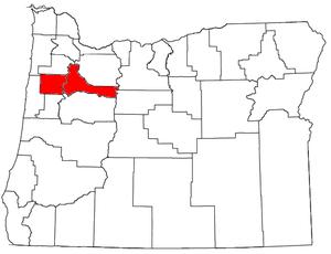 Salem Metropolitan Statistical Area - Image: Salem Metropolitan Area