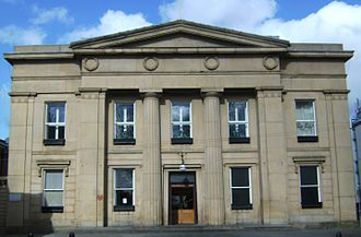 County Borough of Salford - Image: Salford Old Town Hall