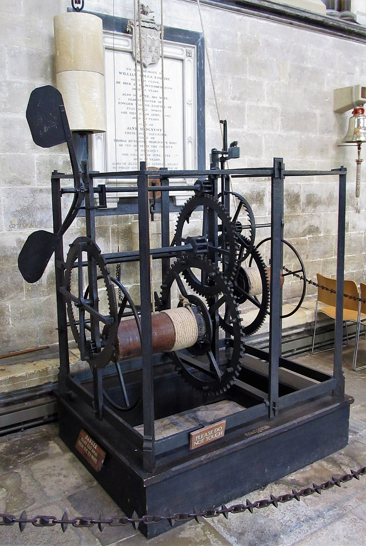 Salisbury Cathedral, medieval clock