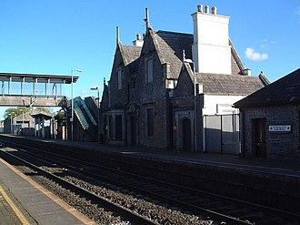 Sallins and Naas railway station - Image: Sallins Railway Station