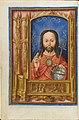 Salva Sancta Facies, Christ as Salvator Mundi, Book of Hours Flanders, probably Bruges c. 1510-1520 Fitzwilliam Museum Cambridge fol 13v MS 1058-1975.jpg