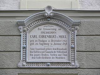 Karl von Moll Austrian entomologist