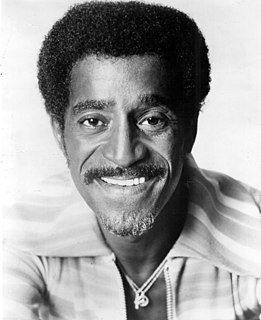 Sammy Davis Jr. American musician and entertainer