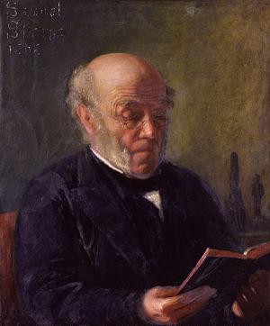 Samuel Sharpe (scholar) - Samuel Sharpe by his daughter, Matilda.