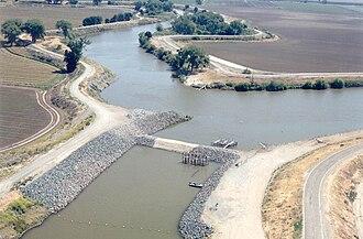 Sacramento–San Joaquin River Delta - The Old River, a former channel of the San Joaquin River located in the southwestern Delta
